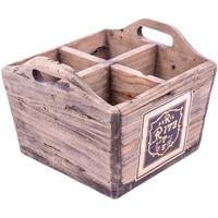 Rustic Timber Storage Box - Distressed Ritz