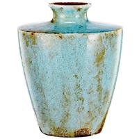 Roman Vase in Distressed Powder Blue