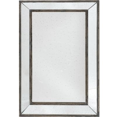 Antique Glass Framed Mirror