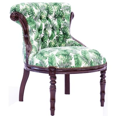 Tufted Accent Chair - Botanical