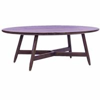 Scandinavian Design Oval Coffee Table