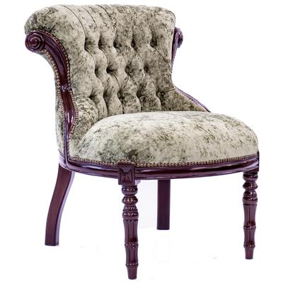 Tufted Accent Chair - Olive