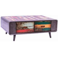 Retro Multi Colour Coffee Table
