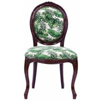 Oval Back Accent Chair - Botanical