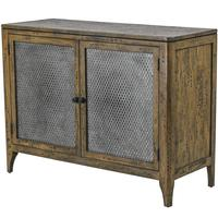 Antique Iron Tin Man Sideboard - Honeycomb