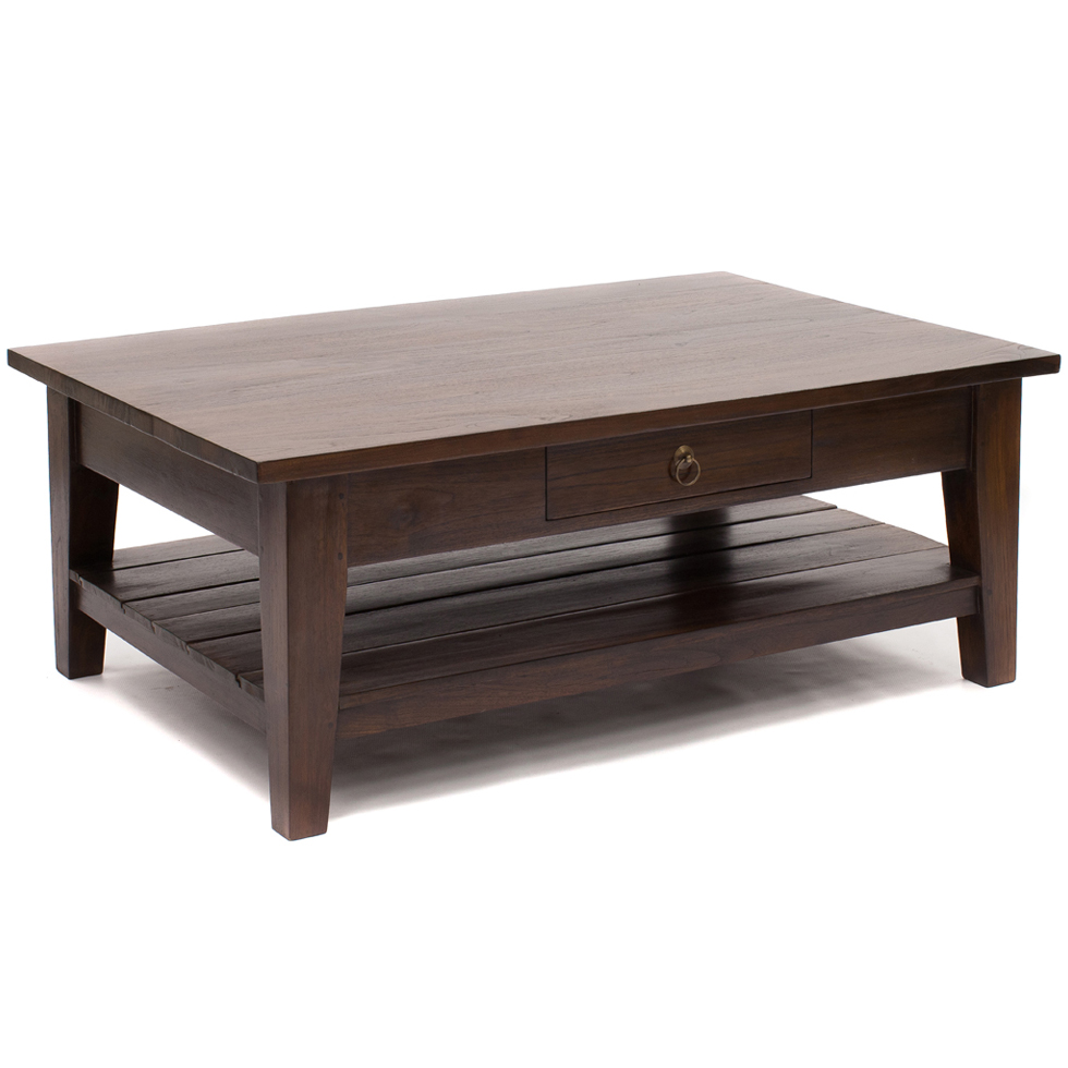 JAVA This beautiful teak coffee table is from our