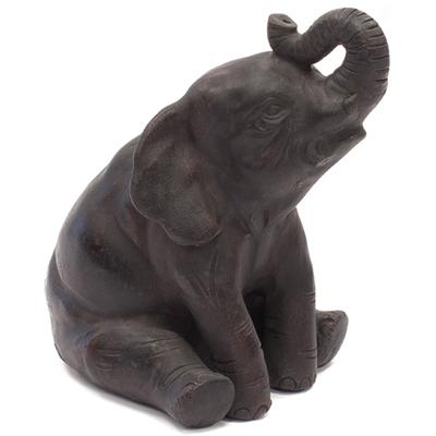 Abstract Pottery Elephant - Sitting