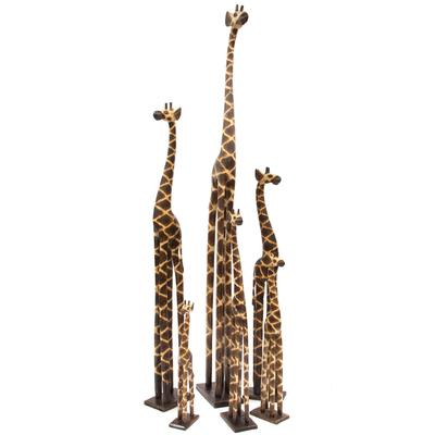 Timber Giraffes in Variety of Sizes
