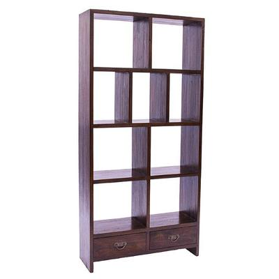 Phillip Bookcase in Rustic Teak