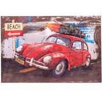 3D Metal Wall Art - VW Car