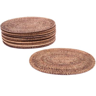 Rattan Table Placemats - Oval